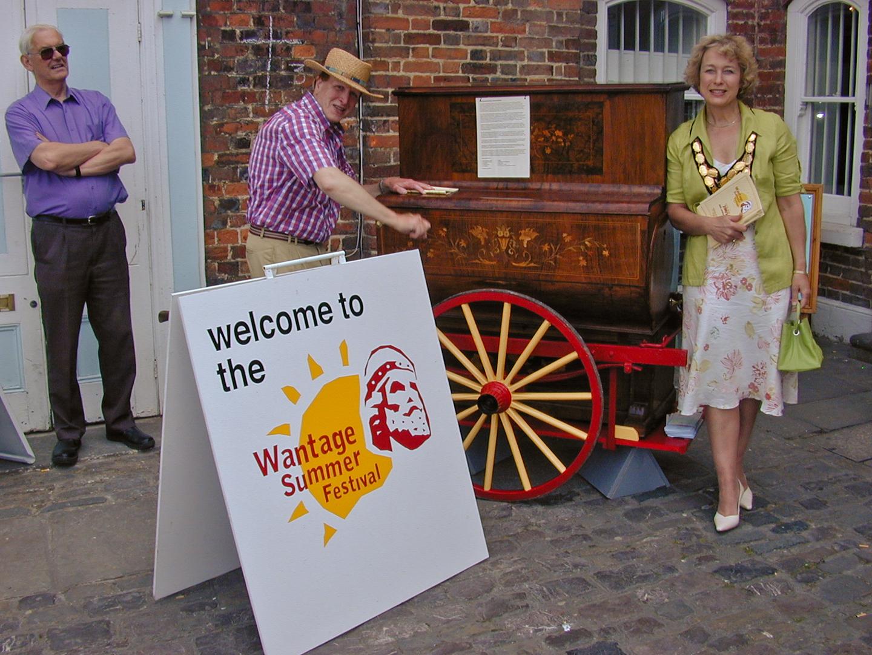 2005 11th June Opening – Organ